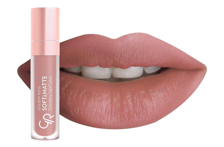 Amazoncom Golden Rose Soft And Creamy Matte Liquid Lipstick 106