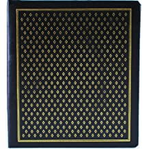 Pinnacle Frames and Accents Black Diamond 100-Page Magnetic Photo Album