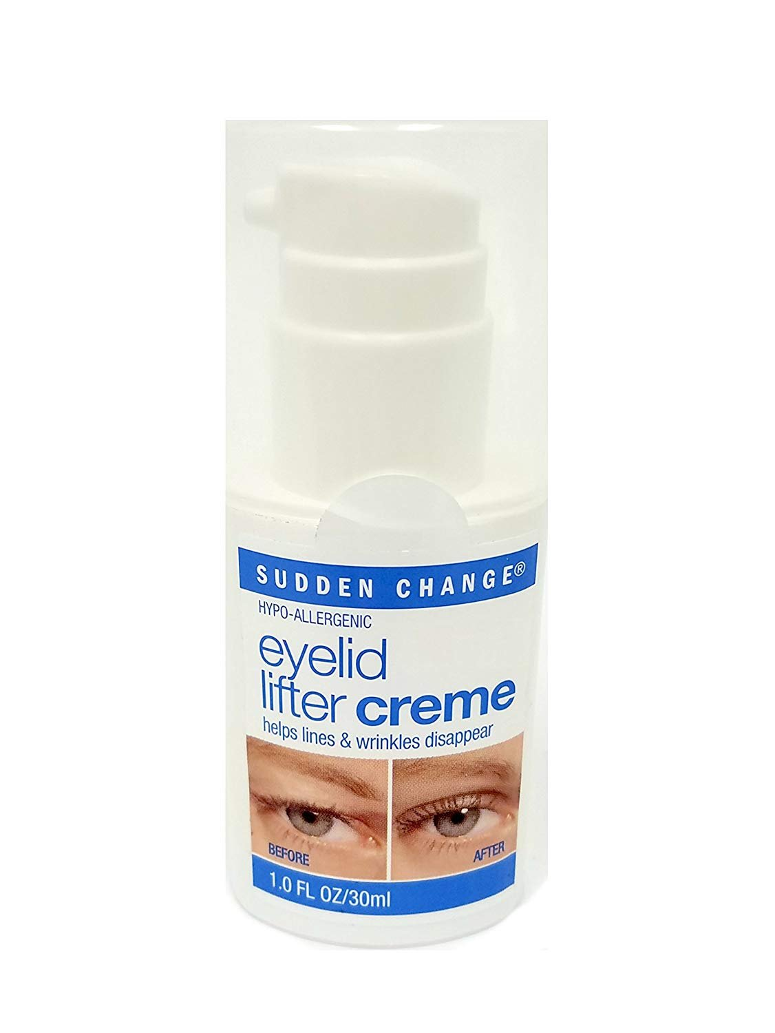 Sudden Change Eyelid Lifter Creme, 1 Ounce Everready First Aid 18515610775