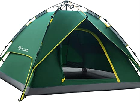 3 nuits camping tente