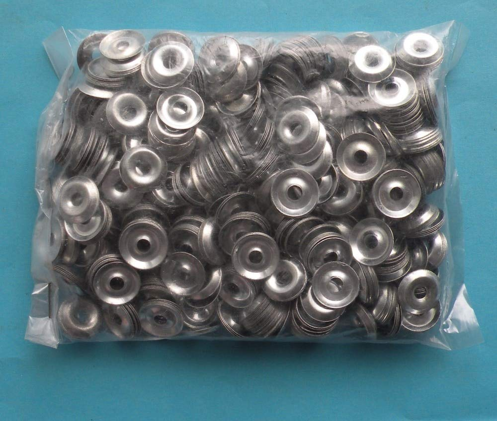 Ochoos 100pcs 500pcs 1000pcs+-2% Pcs Standard Metric M4 M5 M6 Zinc Plated Steel Countersunk Washers Concave-Convex Hollow Fisheye Gasket - (Inner Diameter: M5, Number of Pcs: 1000Pcs)