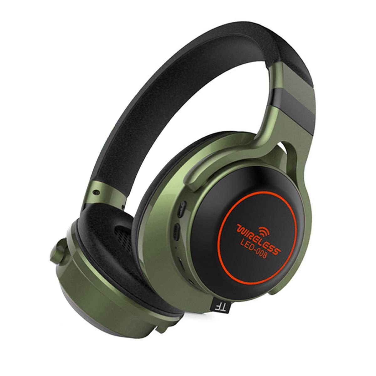 Micoo Headphones, Bluetooth Headphones with Mic Over-Ear Headphones Wireless/Wired Headphones Comfortable Stereo