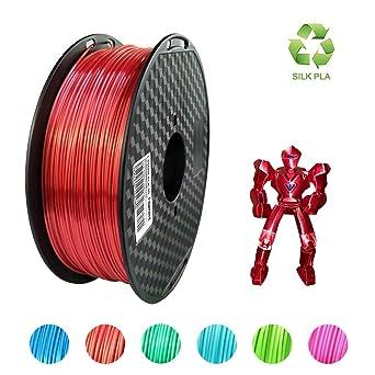 Uniqstore Impresora 3D PLA filamento, 1,75 mm, material de ...