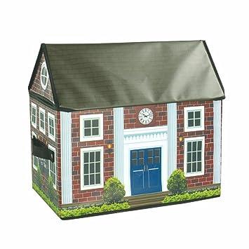 WYTY Child Kids Folding Boy Toy Oxford House Storage Bag With Handle ,  American School