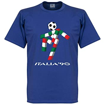 Amazon.com : Italia 90 Mascot Tee - Royal : Sports & Outdoors
