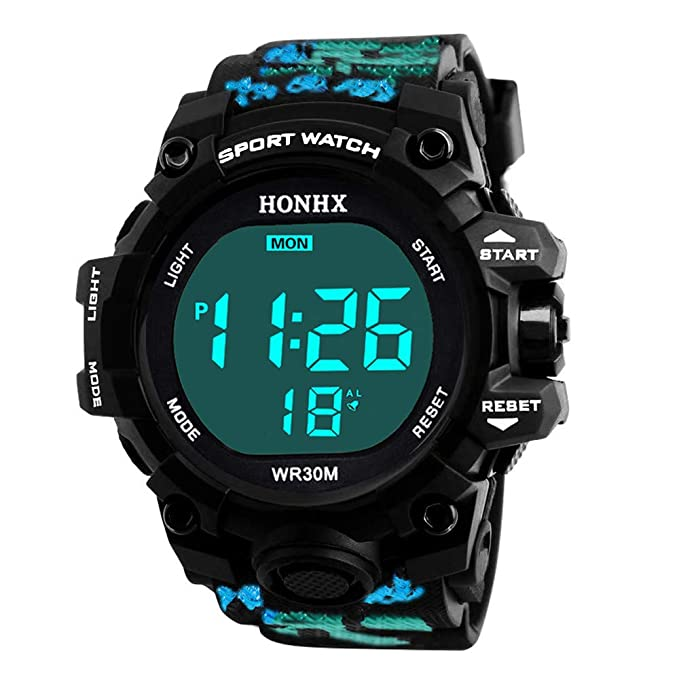 Unisex Electrónico Relojes de Pulsera, YpingLonk Militar Deporte LED Impermeable Reloj de Pulsera Analógico-Digital para Regalo: Amazon.es: Ropa y ...