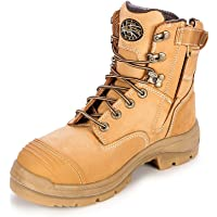 Oliver AT's 55332z Men's Work Boots. Steel Cap Safety, Side Zip.