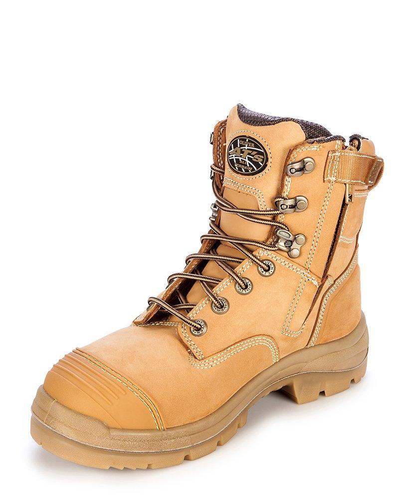 02b63159a3f Oliver AT's 55332z Men's Work Boots. Steel Cap Safety, Side Zip ...