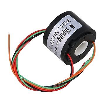 CNBTR 22mm Dia 7mm Loch Dia 4 Kabel Stromleiter Schaltungen Durch ...