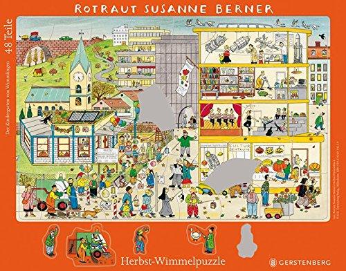 Wimmel-Rahmenpuzzle Herbst Zubehör – 23. Januar 2012 Rotraut Susanne Berner Gerstenberg Verlag 3836954257 21607646