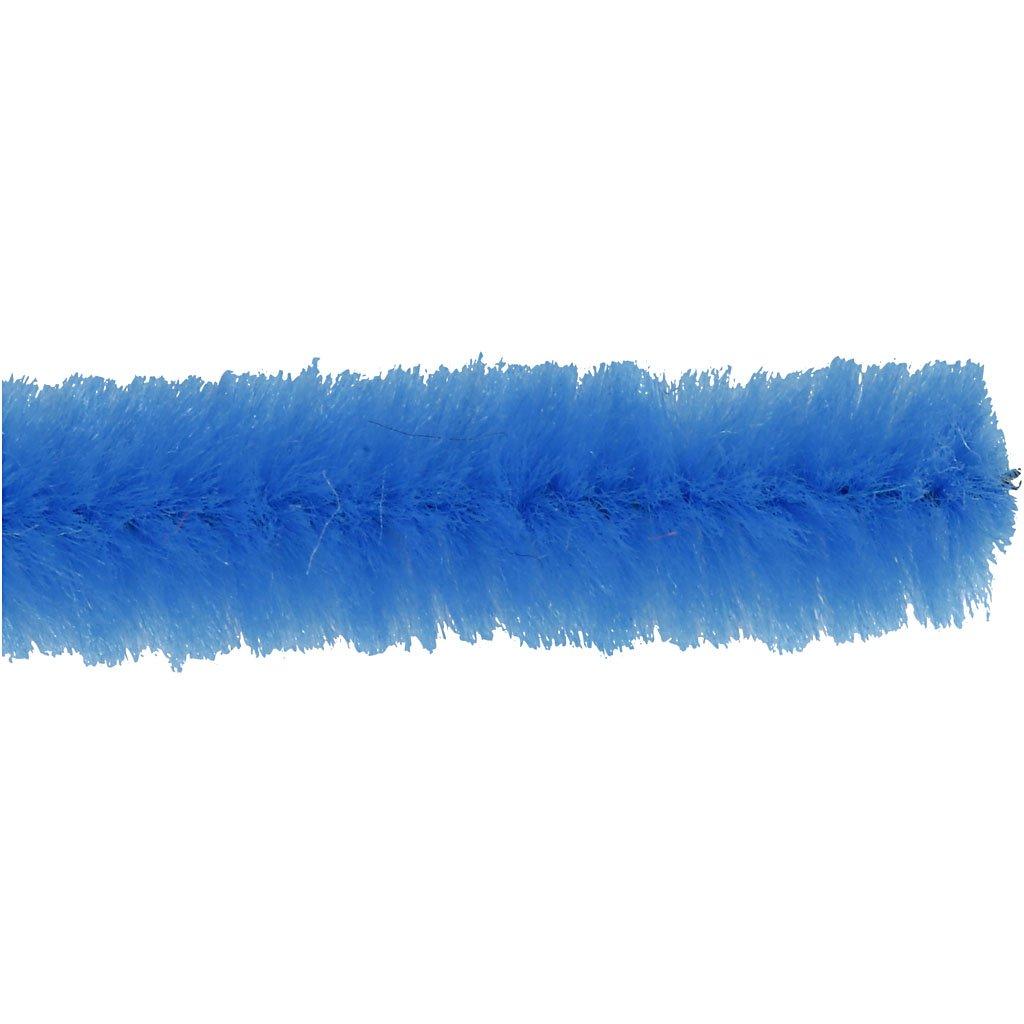 25Stck. Pfeifenreiniger dunkelblau Dicke 9 mm L: 30 cm