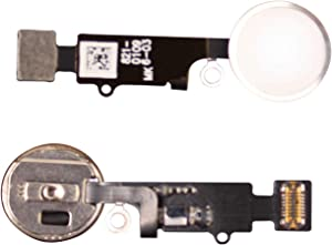 FirefixTM for iPhone 8 and 8 Plus Home Button with Flex Cable and Touch ID Sensor Assembly (Silver)