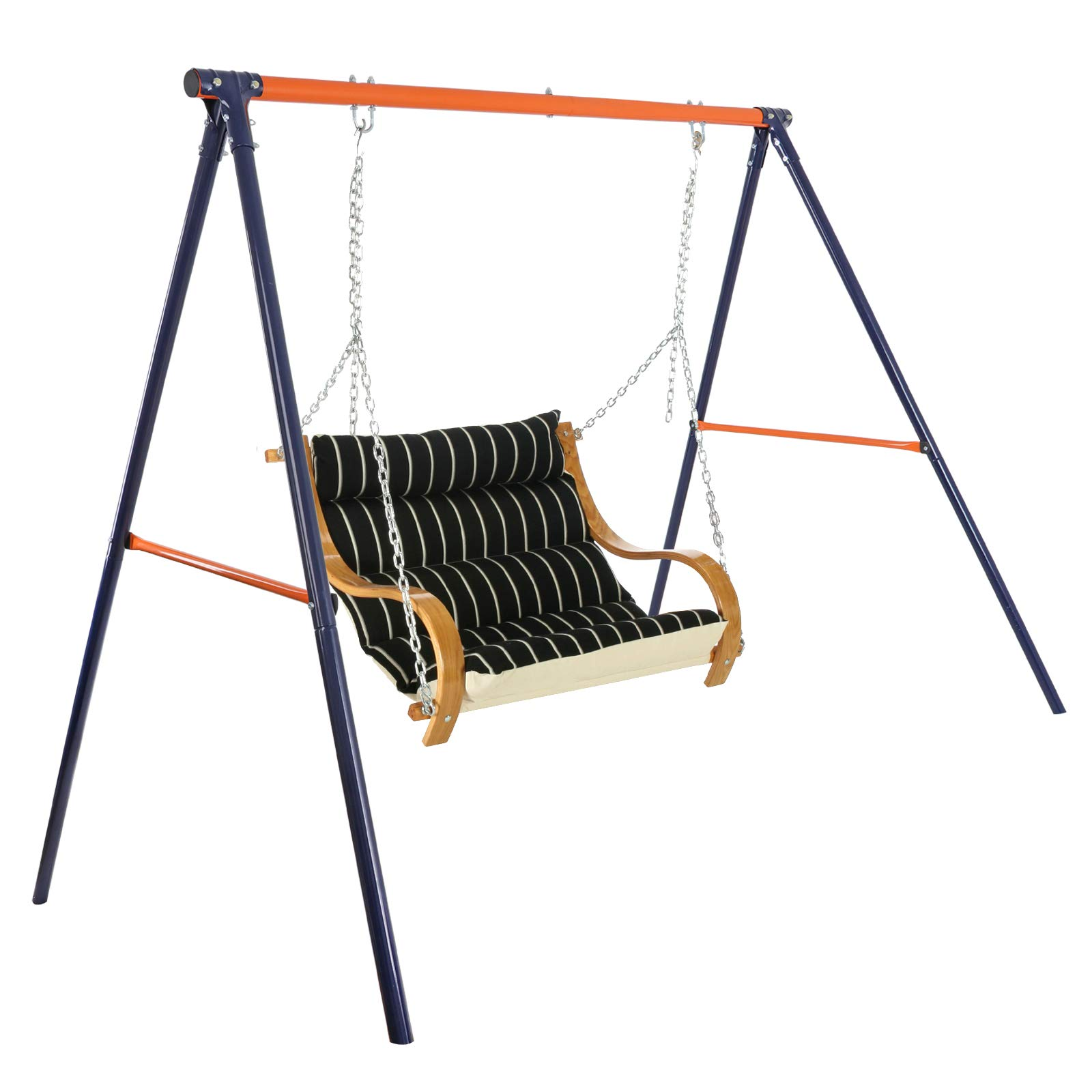 LEMY Large Heavy Duty All-Steel Swing Frame 70.9'' Height 86.6'' Length 220 LB Weight Capacity Metal A-Frame Swing Stand by LEMY (Image #7)