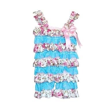 9f920124234753 Babymoon (3-6 Months) Cute Elegant Baby Girls Lace Romper Bodysuit Playsuit  Princess