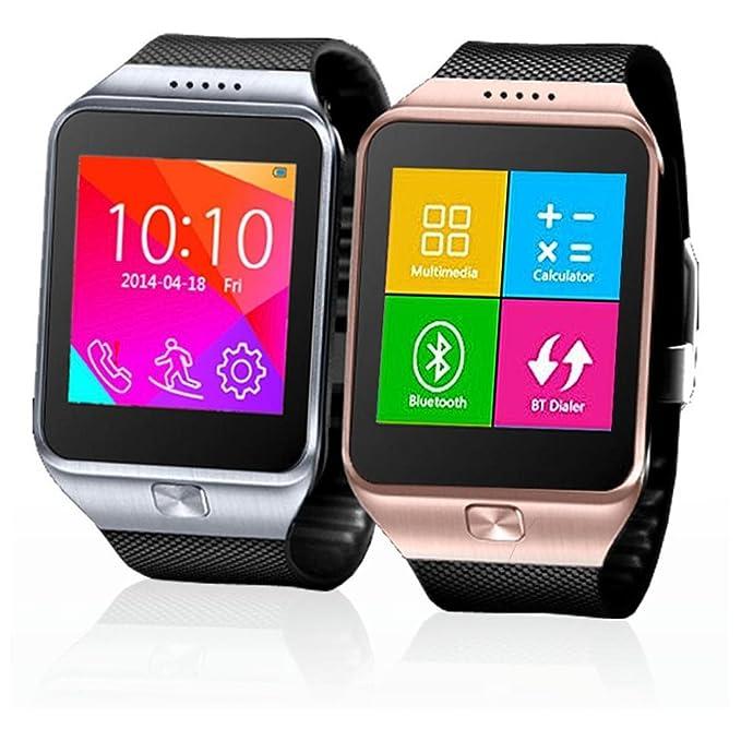 Indigi® Swap GSM inalámbrico + Bluetooth Smart reloj teléfono ...