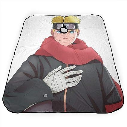 Woworldwo Naruto Uzumaki Naruto - Delantal de corte de pelo ...