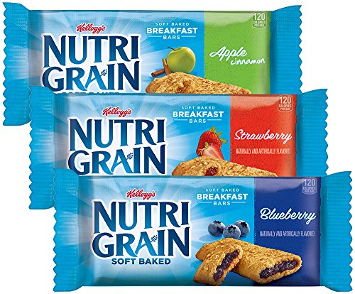 Kellogg's Nutri-Grain Cereal Bars, 36 Count