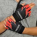 Yoyorule Sports Bicycle Cycling Biking Hiking Gel Half Finger Fingerless Gloves