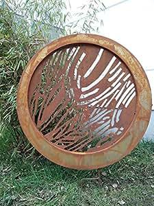 Jardín Inspiration Escultura de jardín de óxido Natural