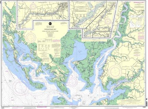 NOAA Chart 12261: Chesapeake Bay Honga, Nanticoke, Wicomico Rivers and Fishing Bay