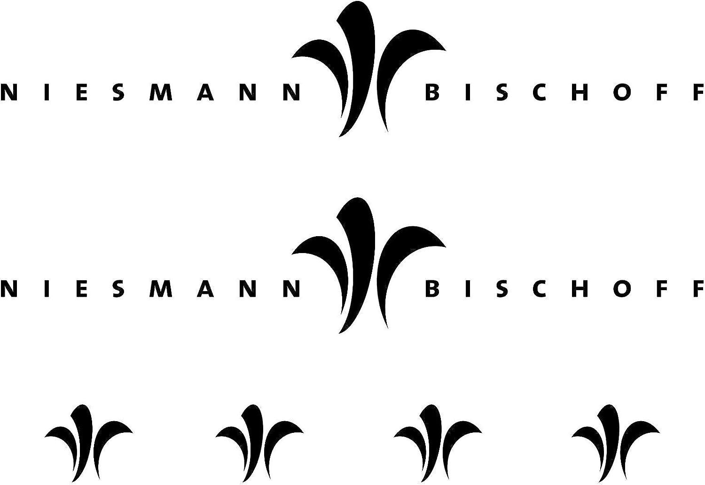 SUPERSTICKI NIESMANN+BISCHOFF XL Aufkleber Sticker wohnmobil Camper Wohnwagen Caravan aus Hochleistungsfolie Aufkleber Autoaufkleber