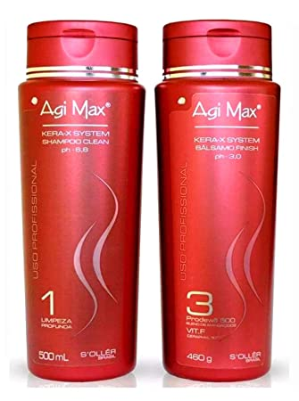 Amazon Com Agi Max Home Care Maintenance Kit 2x500ml Soller Beauty