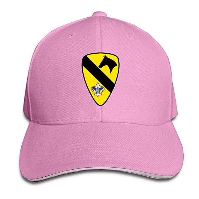 Amazon.com  1st Cavalry Army Boy Scouts Unisex Baseball Cap Dad Hat ... 7e3a6d37f14