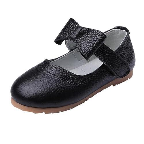 4d405870b Juleya Merceditas Charol con Lazo para Niñas - Zapatos Princesa de Niña  para Boda Cumpleaños  Amazon.es  Zapatos y complementos
