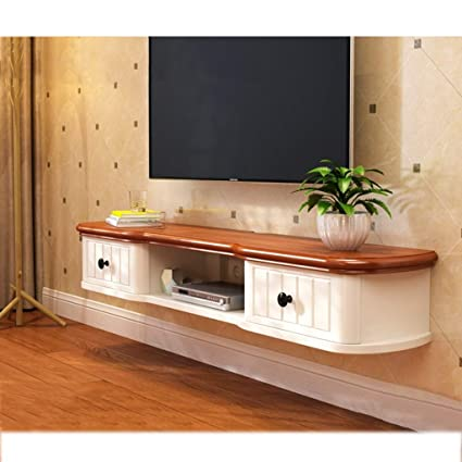 Floating Shelf Wall Mounted TV Stand Shelf Rack Cabinet Media Entertainment Console  Gaming Shelving Unit With