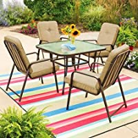 Mainstays Lawson Ridge 5-Pc. Patio Dining Set