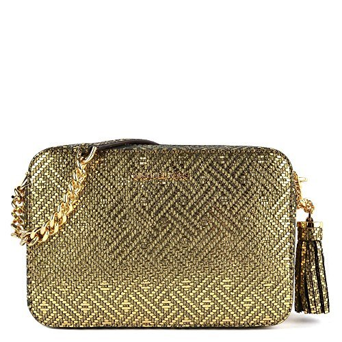 Michael Kors Gold Handbag - 3