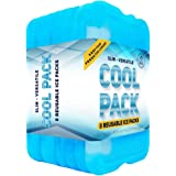 [NEW] Cool Pack, Slim Long-Lasting Ice Packs - Great for Coolers or Lunch Box (8-Pack)