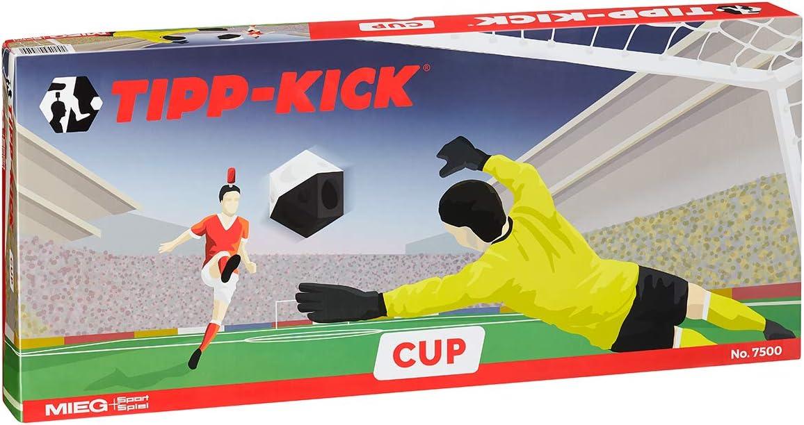 Tipp Kick Cup - Futbolín con 2 kickers superiores, Guardianes de ...