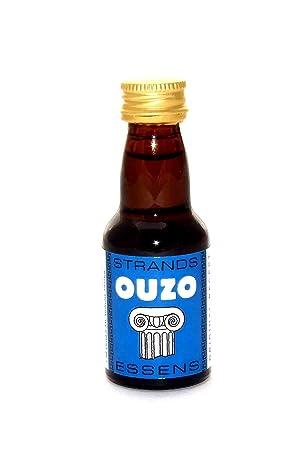 Ouzo - Alcohol esencia, espíritu esencia, Vodka de esencias, aroma, Turbo de levadura, Liquer, licor: Amazon.es: Hogar
