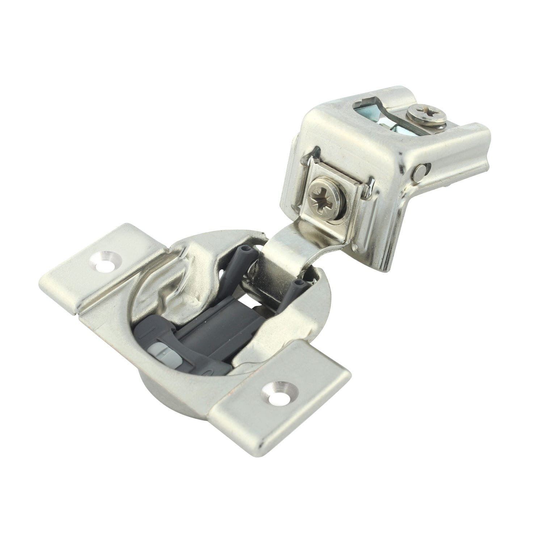 Blum Rok Hardware 50 Pack 110 Degree Compact 39C Series otion 1-9/16-inch Overlay Screw-On Self-Closing Cabinet Hinge