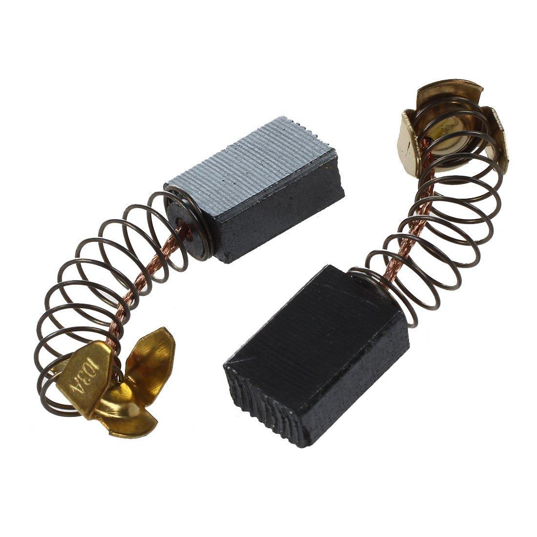 WOVELOT 2 pieces Moteur electrique Moteur Brosses carbone 15 x 9 x 6mm