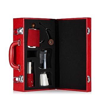 Empire Hand Coffee Pot Set Drip Pot Boca Larga Boca Fina Pot Hand Crank Máquina De