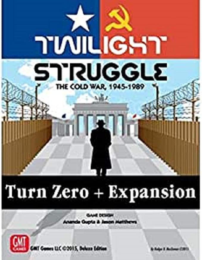 GMT Games GMT1915 Twilight Struggle Turn Zero Expansion, Mixed Colours: Amazon.es: Juguetes y juegos