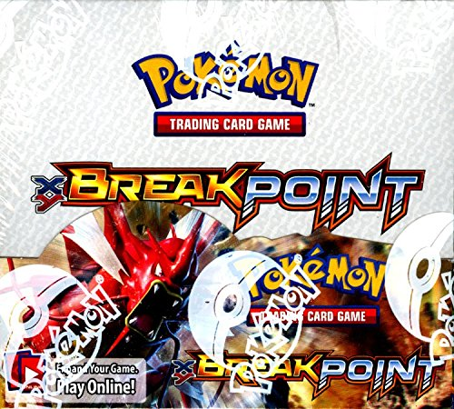 Pokemon TCG XY Break Point Sealed Booster Box (English) (Trading Card Game) Photo