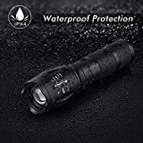 Doubles Black Lighting UV Flashlights, Ultraviolet Blacklight Zoomable Adjustable Focus 5 Modes Water Resistant Torch Rechargeable Lithium Ion Battery & Charger Detector Pet Urine & Dry Stains