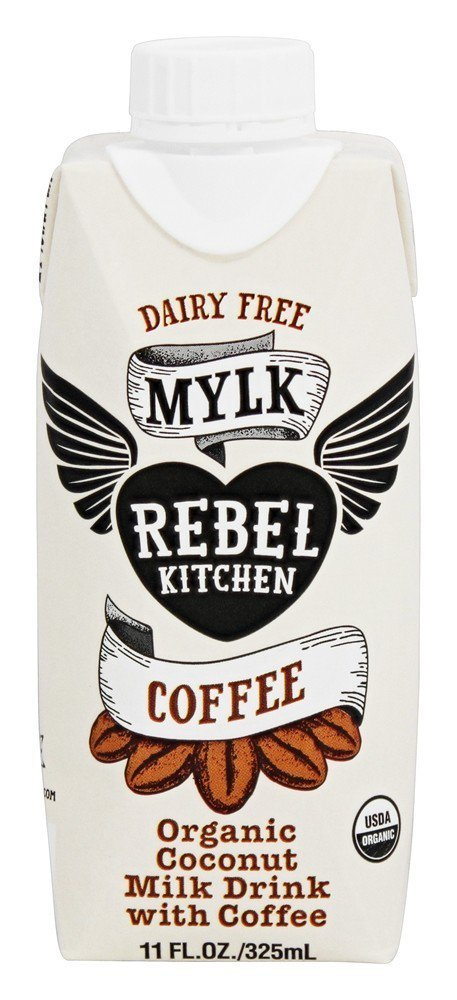 Rebel Kitchen Organic Coconut Milk Drink, Coffee, 11 Ounce (Pack of 8)