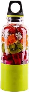 500ml 4 blade portable blender juicer machine mixer electric mini usb food processor juicer smoothie blender cup maker juice,Green
