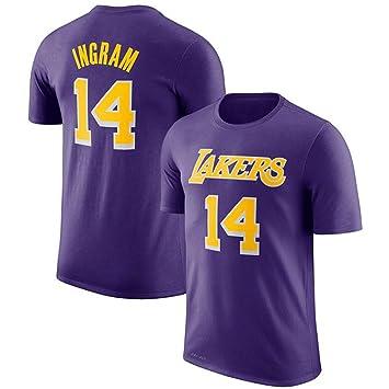 WYNBB Camiseta de Manga Corta Los Angeles Lakers No.8 Bryant ...