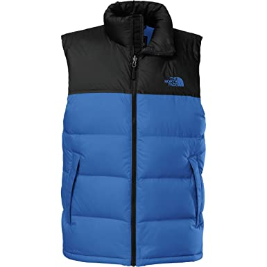 20900af4e6 The North Face Nuptse Down Vest - Men s Monster Blue TNF Black