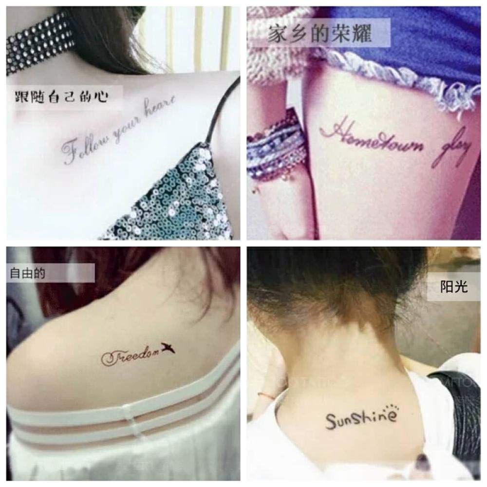 Tattoo Ins Tattoo Stickers Impermeables Hombres y mujeres Dedo de ...