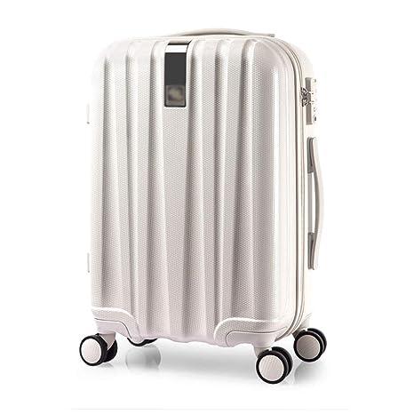 Yuan Portatrajes de Viaje Maleta con Ruedas - Poliéster/PC, Cerradura de combinación TSA