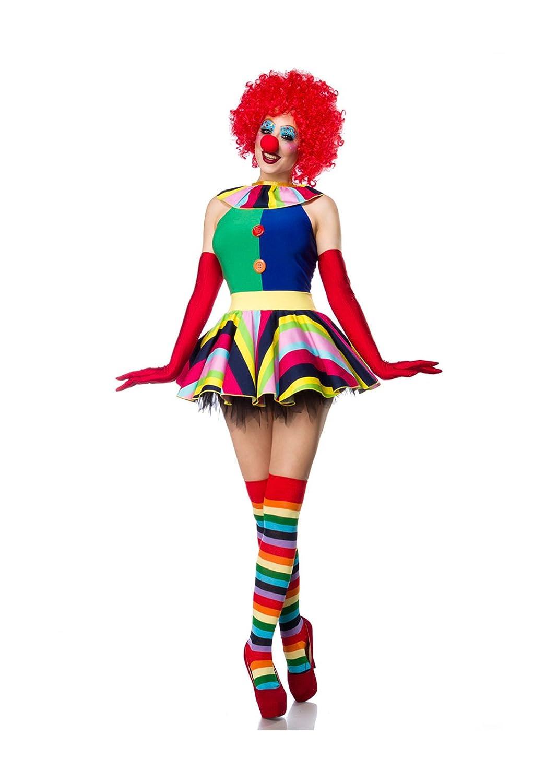 Clown Girl Komplettset von Mask Paradise