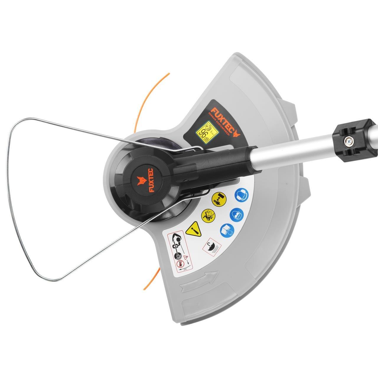 Fuxtec 120 V batería cortabordes ea314 by 120 V Tecnología de ...
