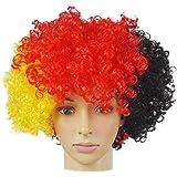 Germany Football Fan Wig 2018 FIFA World Cup Wig Football Fan National Flag Wig Synthetic Hair