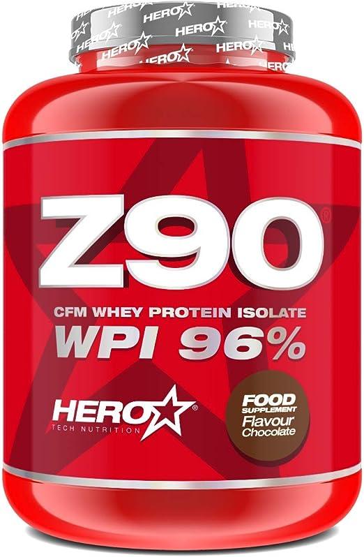 Z90 Cfm Whey Protein Isolate 900 Grs - Hero Tech, CHOCOLATE